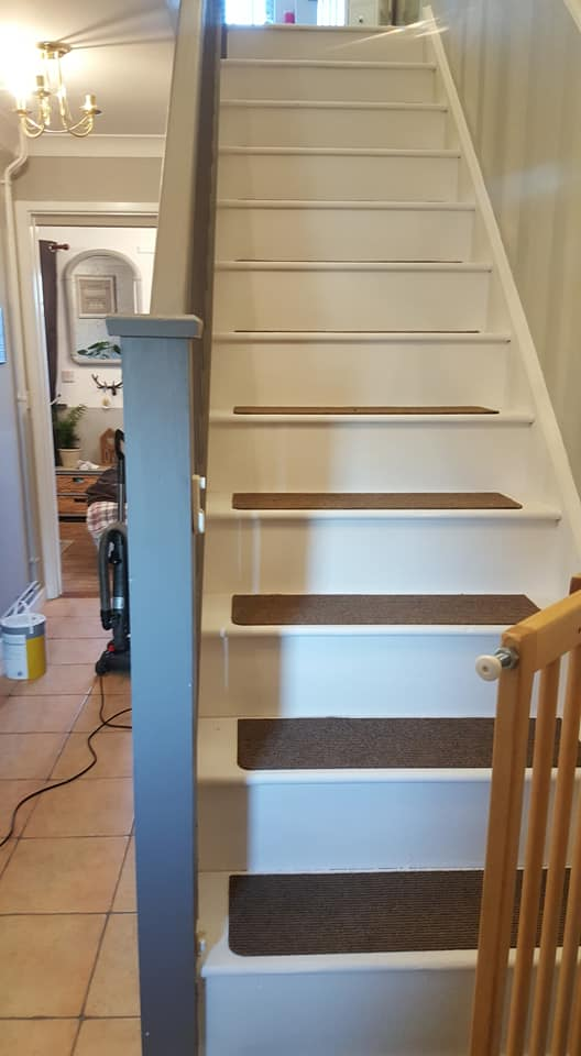 How To Make Your Own Carpet Stair Treads 1
