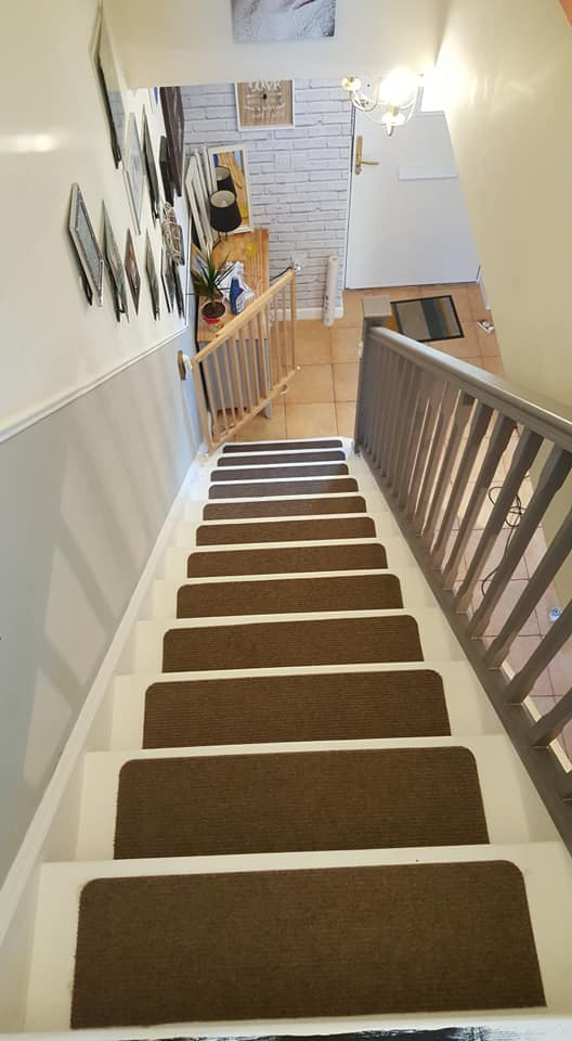 how to make your own carpet treads