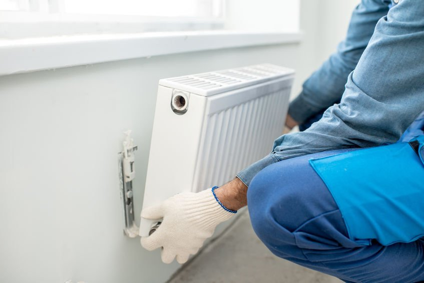 removing-radiator-from-wall