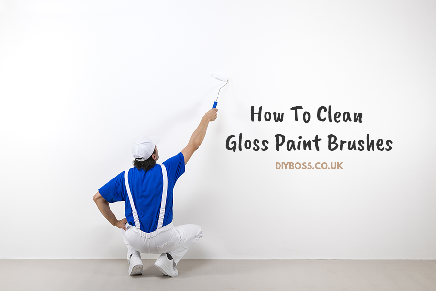 How To Clean Gloss Paint Brushes 1